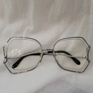 Vintage Prescription glass very light double frame